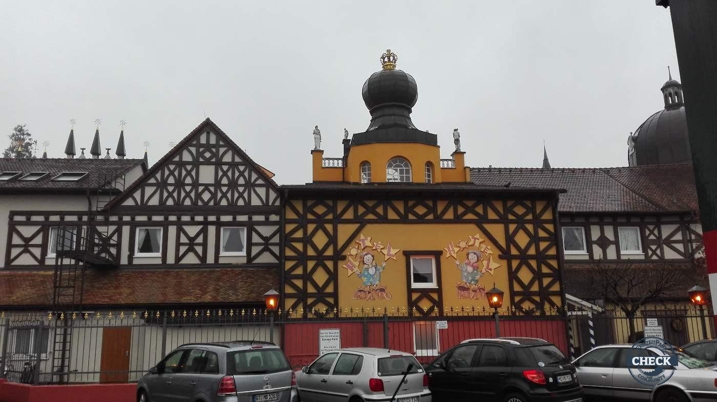 """Gästehaus """" Circus Rolando """" (Hotelkarte)"""