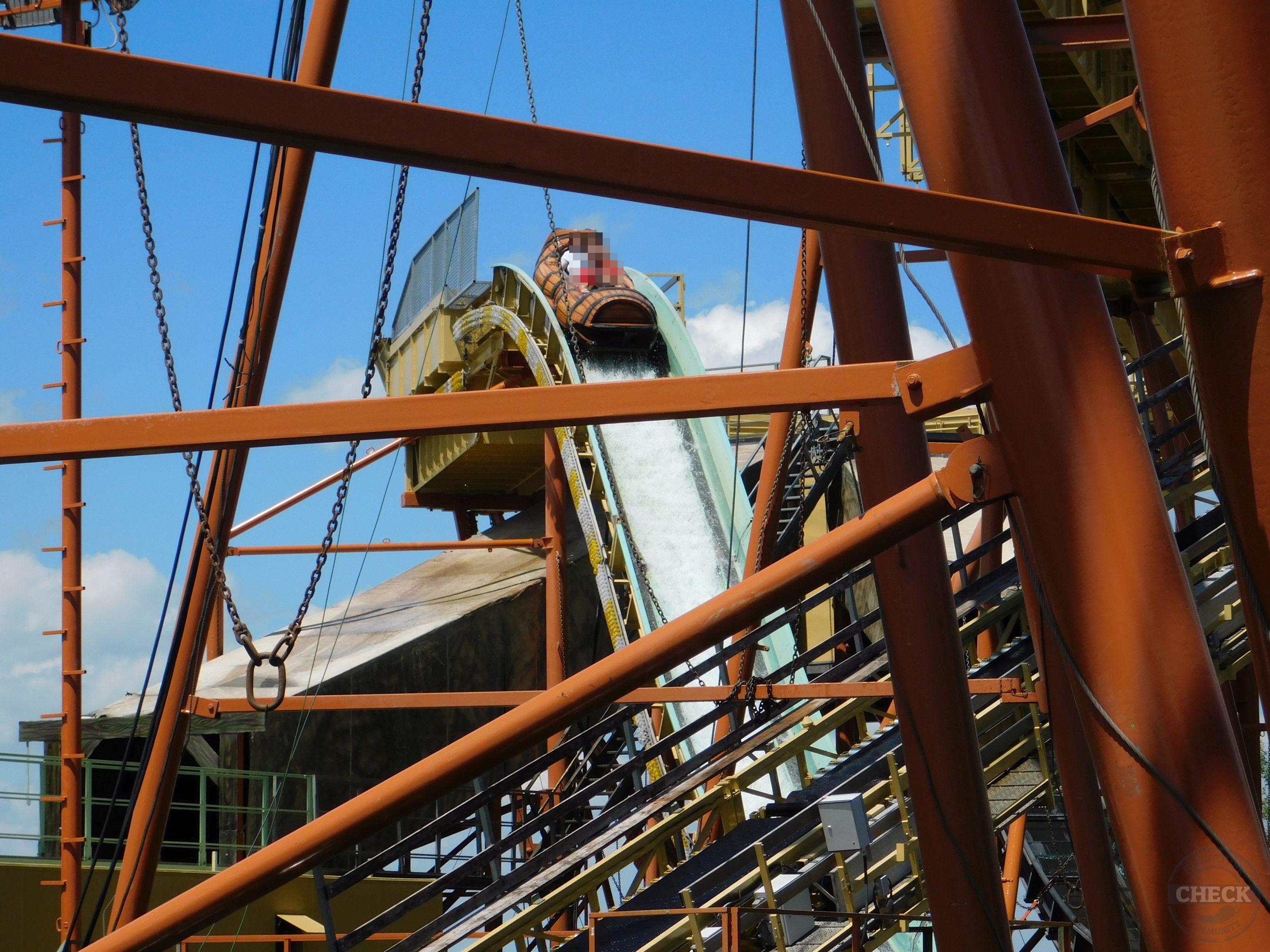 SkylinePark - Wildwasserbahn 2 - es geht abwärts