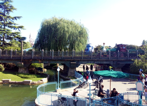Disneyland Railroad 4