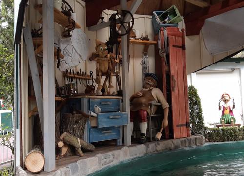 Marionetten-Bootsfahrt