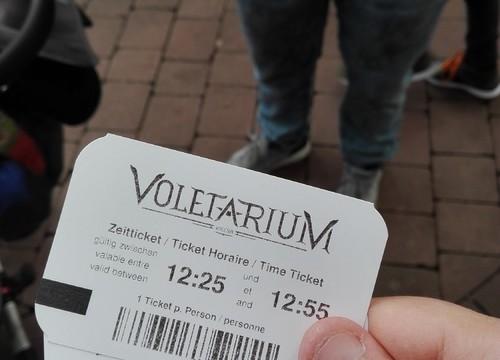 Voletarium Zeitticket