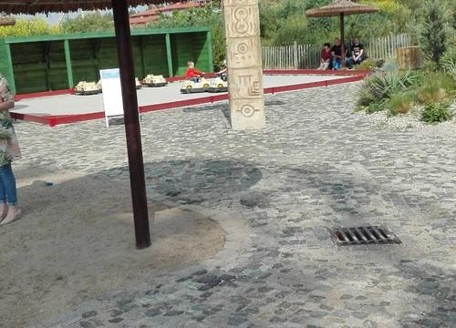 Kinder-Erlebnisoase mit Tempel-Rallye