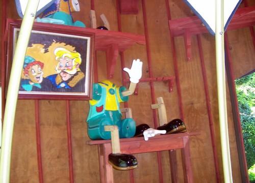 Marionetten-Bootsfahrt Pinoccio