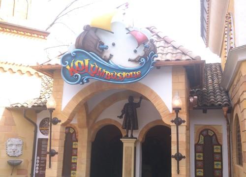 Kolumbusjolle Eingang