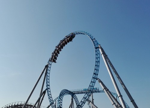 Blue Fire Looping
