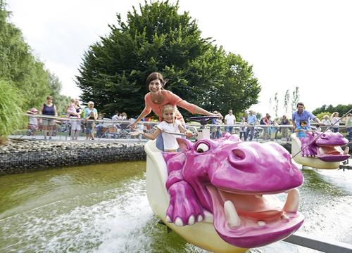 Das Nilpferd in der Wasserbahn