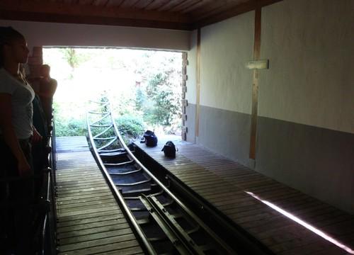 Rasender Tausendfüßler Station