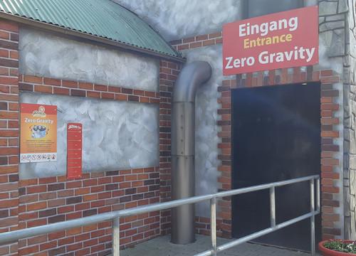 Zero Gravity Eingang