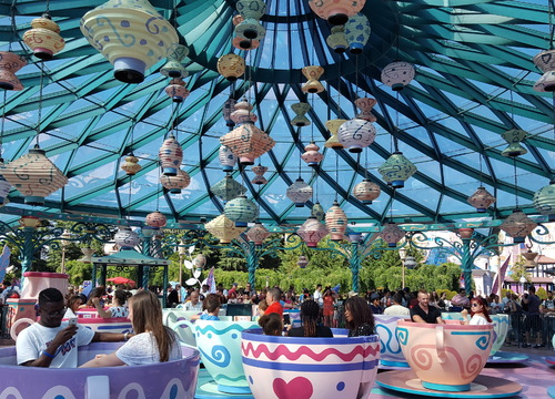 Mad Hatter´s Tea Cups
