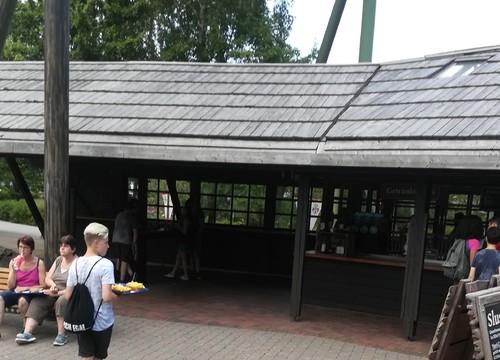 Kiosk im Holzfällerlager