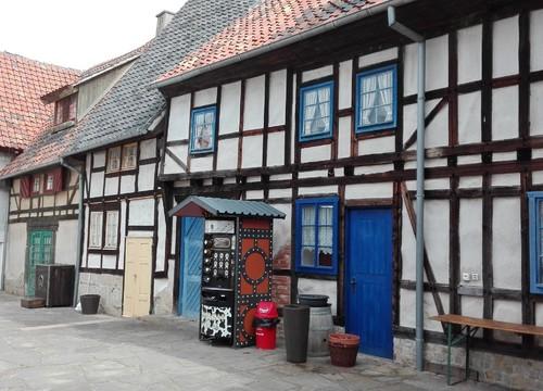 Alter Marktplatz mit Pulverschänke