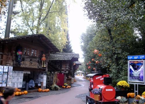 Schweizer Bobbahn Eingang
