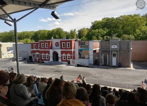 Stuntshow-Bühne Movie Park