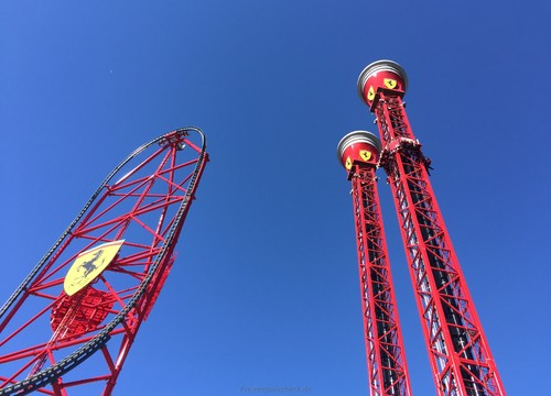 Red Force & Thrill Towers
