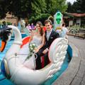 Hochzeitsshooting auf dem Schwanenkarussell