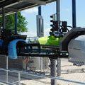 Skyline Park - Sky Dragster 11.6.17 - die beiden aktiven Wagen