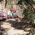 Fahrt auf der Kindereisenbahn